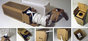 Packaging can be made into a lamp