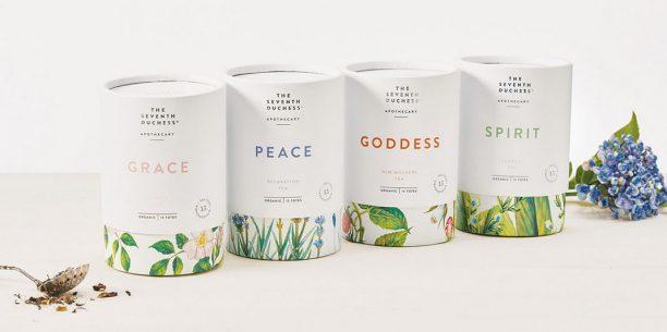 elegant tea design